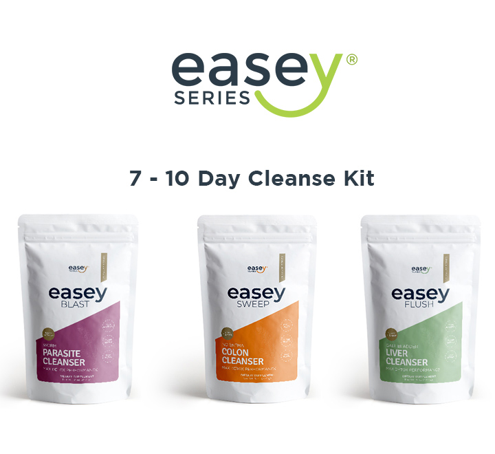 This is easey Series 7-10 cleanse and detox kit products.