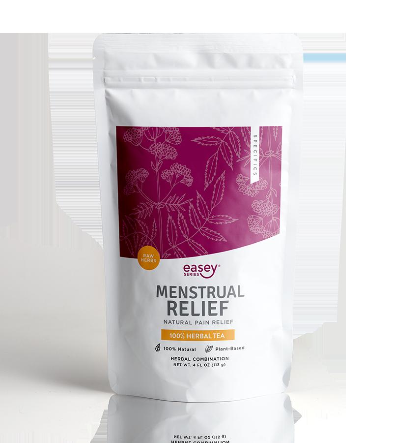 menstrual cycle relief herbal tea